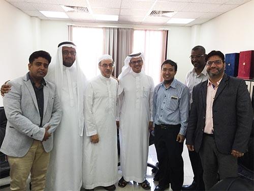 كلية الحاسبات وتقنية المعلومات برابغ قام فريق من كلية الحاسبات وتقنية المعلومات برابغ بزيارة جامعة الملك عبدالعزيز بجدة